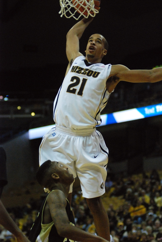 Laurence Bowers had the most consistently impactful year of Mizzou's forwards. (Photo by JJ Stankevitz)
