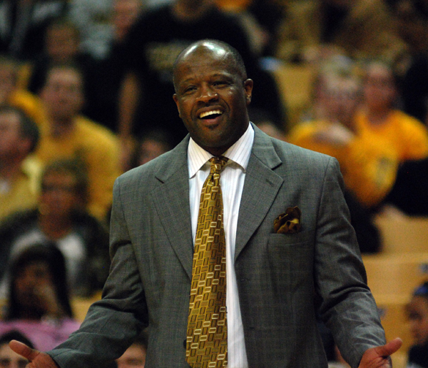 For the third consecutive year, Mike Anderson will be targeted by a school to fill a head coach opening. (Photo by JJ Stankevitz)