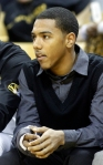 "Phil ""Flip"" Pressey is expected to be out for a few more weeks with a broken finger."