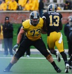 Mark Hill - Kenji Jackson - Mizzou Football ( Photo by Nick Gerhardt )