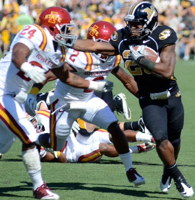Mizzou's focus on rushing attack leads to dominant win over