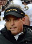 This was coach Gary Pinkel's first game back since his suspension following his arrest for DWI.