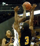 Mizzou's Kim English (13 points) was one of five Tigers to score in double figures.