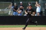 Ashley Fleming rounds the bases Saturday, May 12, 2012, after hitting her career-high 15th home run. Missouri beat Oklahoma State 5-3.