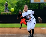 Chelsea Thomas threw 13 strike outs in her complete game shutout.