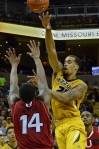 Missouri forward, Laurence Bowers, not only can score the ball, but he can pass it.