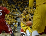 Missouri guard Phil Pressey (1)  finished the game with 19 points and nine assists.
