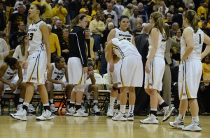 The Mizzou Tigers lose 60-58 to Eastern Illinois in the first round of the WNIT at Mizzou Arena Wednesday, March 20, 2013.