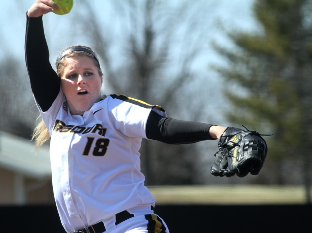 Starting pitcher Chelsea Thomas struck out 10 batters Wednesday, surpassing the 1,000 mark for her career.