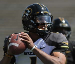 James Franklin played with the starters in Saturday's spring game.