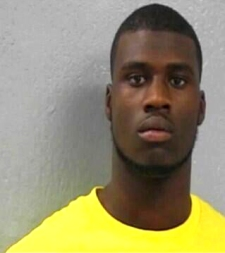This is the Greene County Jail mug shot of Missouri wide receiver Dorial Green-Beckham. Green-Beckham was arrested early Saturday morning in his hometown of Springfield, Mo., on suspicion of drug activity.