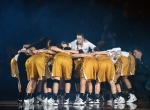 The Tigers huddle up before tipoff in their final home game of the season. Missouri's victory over Ole Miss moved its record to 17-11.