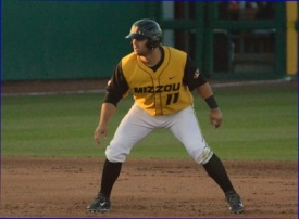 Shane Segovia became the second Missouri player this season to record three doubles in one game. The Tigers would beat Missouri State 9-4 and improve to 15-16 on the year.