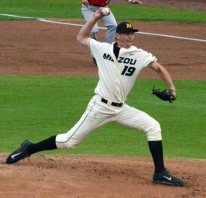 Missouri starting pitcher Alec Rash pitched two innings and gave up four hits and two runs to the Redhawks. Tuesday night's 6-5 win at Taylor Stadium in Columbia, Mo., boosted the Tigers to 20-24 overall on the season.