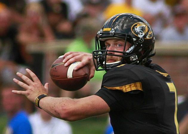 Starting quarterback Maty Mauk has thrown for 12 touchdowns this season.