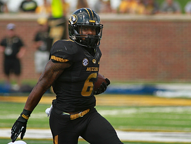 Marcus Murphy recorded 204 all-purpose yards on Saturday, including a 100 yard kickoff return for a touchdown. Murphy's versatility could be a key to Missouri's offensive success this season.